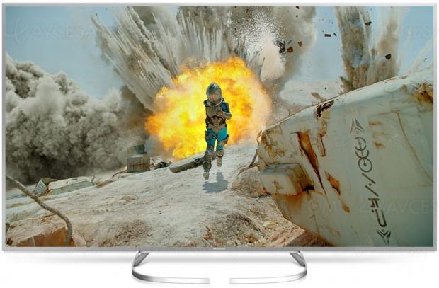 TV LED Ultra HD Panasonic EX700, trois références au catalogue