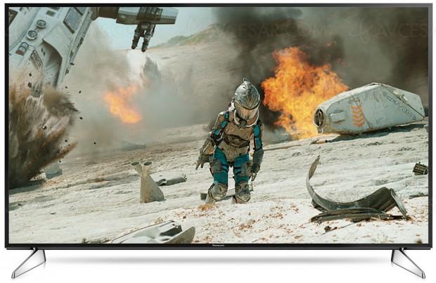 TV LED Ultra HD Panasonic EX600, quatre téléviseursannoncés