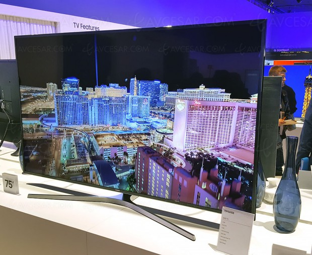 TV LED Ultra HD Samsung MU6105, cinq téléviseurs annoncés