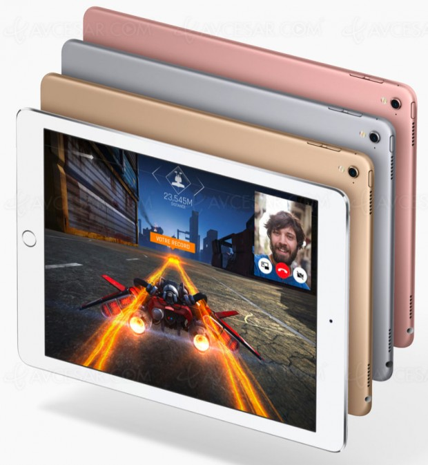 Nouveaux iPad Pro, iPhone SE 128 Go, iPhone 7 rouge…