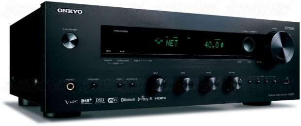 Onkyo TX-8270, amplificateur stéréo Hi-Firéseau avec connecteursHDMI