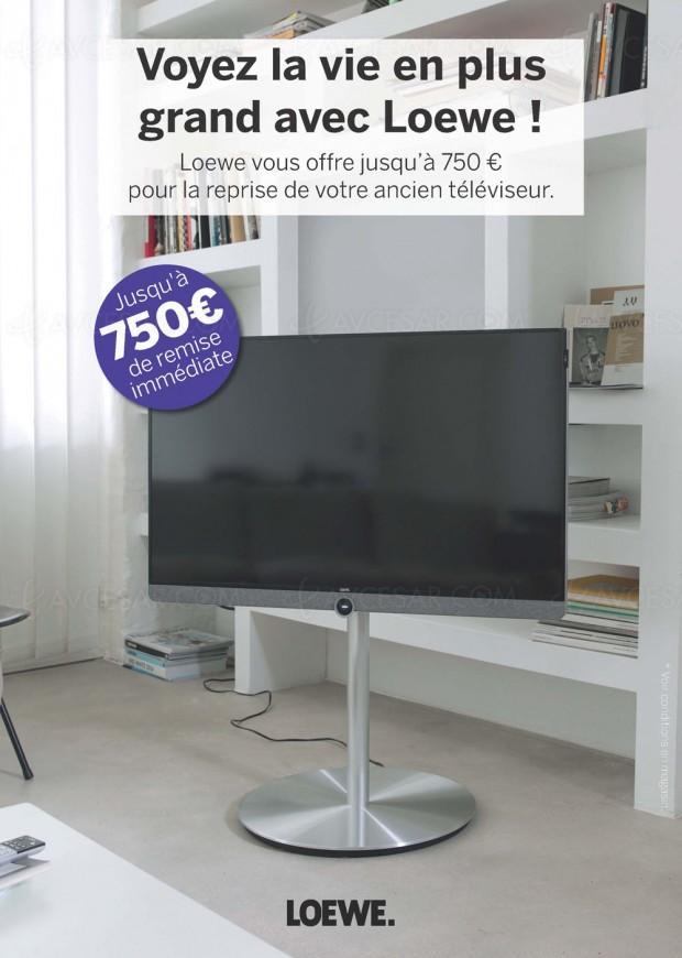 ODR Loewe, jusqu'à 750€ de reprise pour votre ancienTV