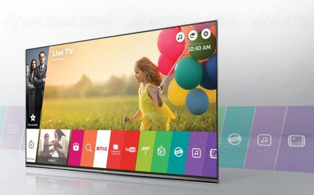 Sécurité certifiée sur Smart TV LG