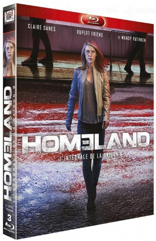 Homeland saison 6, le 4 avril en Blu-Ray etDVD