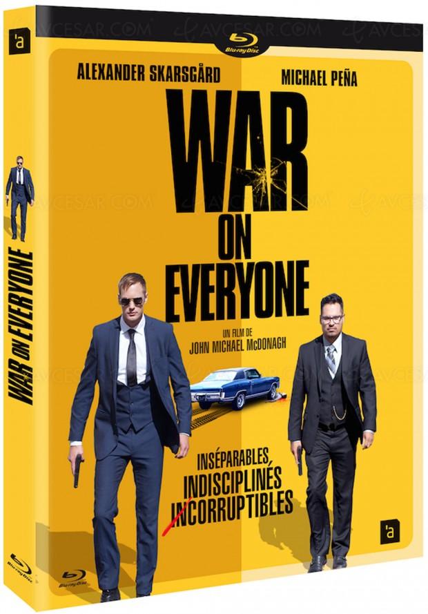 War on Everyone, Alexander Skarsgård peut aussi fairerire