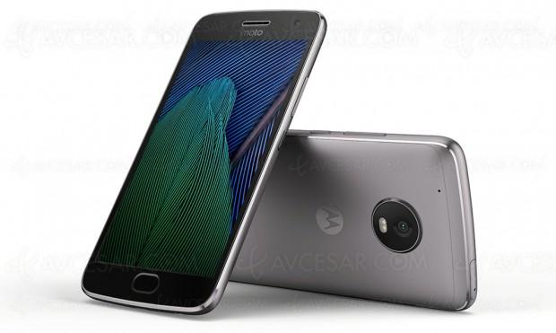 Le Motorola Moto G5 Plus nouveau annoncé, avec design métal