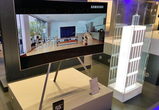 TV LED Ultra HD Samsung Q8C, 55