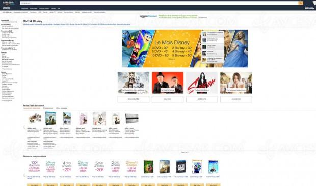 Promos Blu-Ray/DVD/série TV Amazon, récapitulatif des offres dumoment