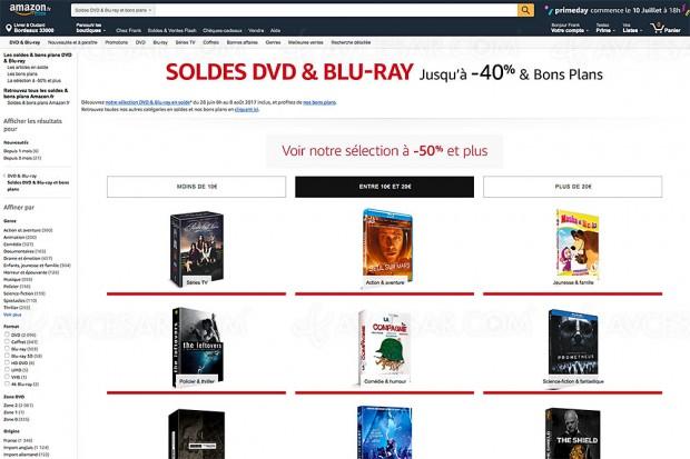 Promotions Blu-Ray/DVD/série TV Amazon, nouveau récapitulatif des meilleures affaires du moment :