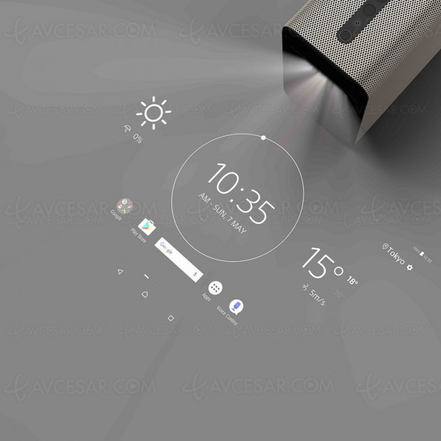 Sony Xperia Touch, projecteur… tactile