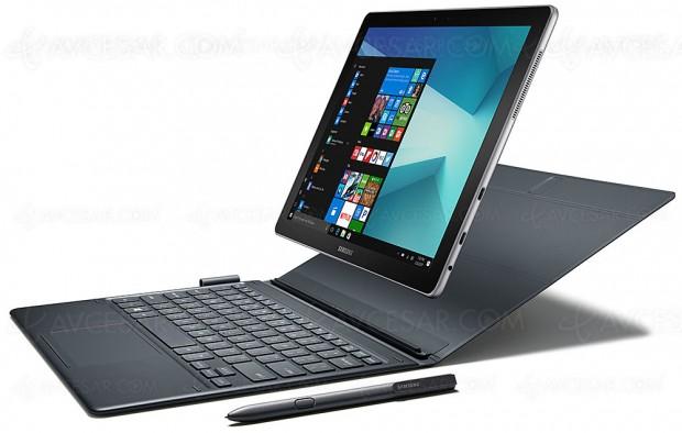 Tablettes/PC convertibles Samsung Galaxy Book, deux versions pour lespros