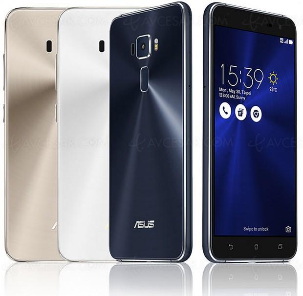 Test smartphone Asus ZenFone 3, enligne
