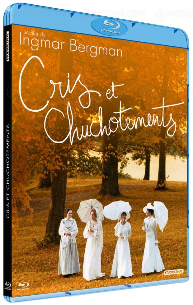 Blu-Ray Cris et chuchotements de Bergmanremasterisé