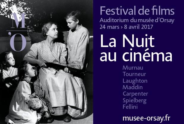 Festival ciné La nuit au cinémaau Muséed'Orsay