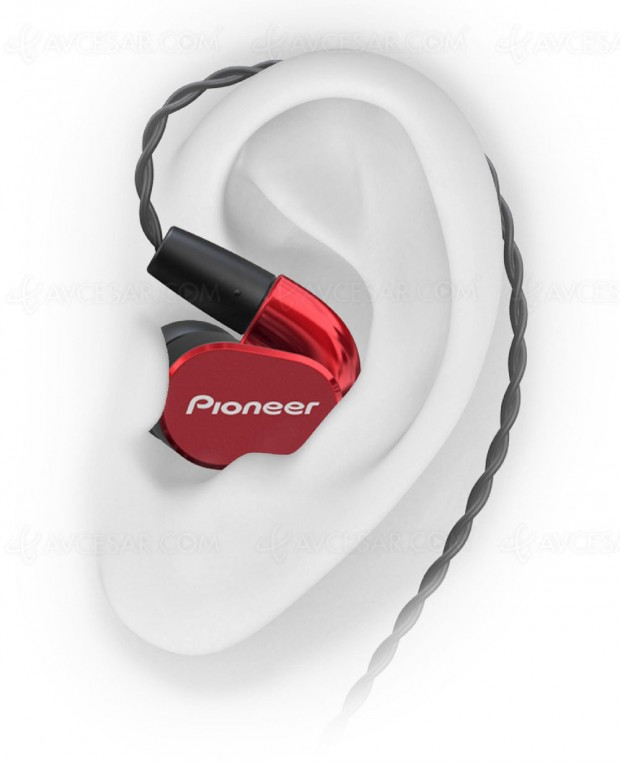 Pioneer SE-CH5T, casque intra‑auriculaire Hi‑Resaudio à50€!