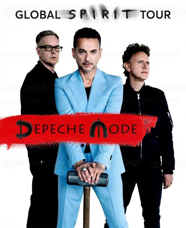 Spirit de Depeche Mode, en HD et à 360° à Berlin le 17mars