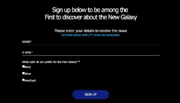 Couleurs du Galaxy S8 dévoilés?