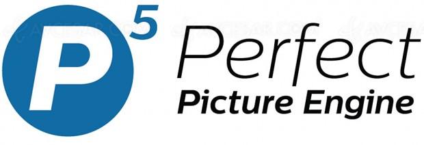 Processeur Philips P5 Perfect Picture Engine, 50% de puissance en plus sur les TV 2017