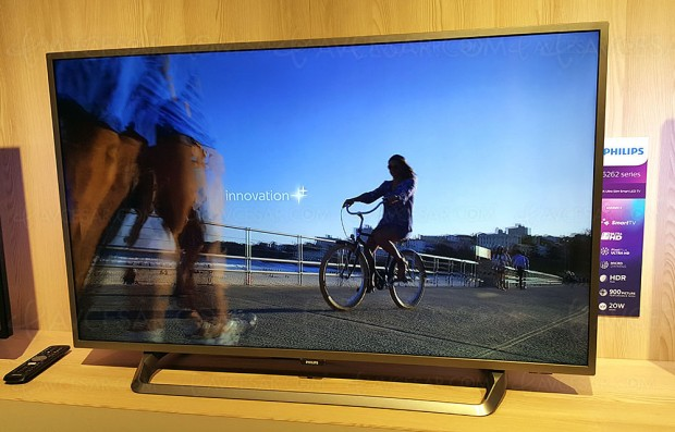 TV LED Ultra HD Philips PUS6262 : 43'', 50'', 55'' et 65