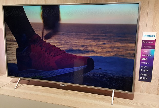 TV LED Ultra HD Philips PUS6432: 43'', 49'' et 55'' aumenu
