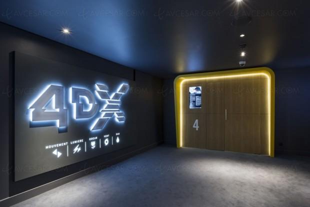 Photos de la première salle de ciné 4DX en France… ça vachatouiller
