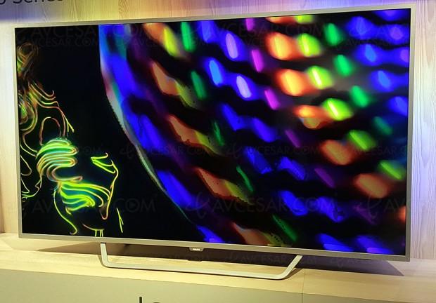 TV LED Ultra HD Philips PUS6412: 43'', 49'', 55'' et 65
