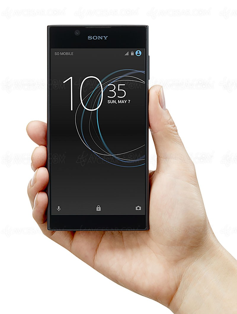 sony xperia l1 une phablette pour tous. Black Bedroom Furniture Sets. Home Design Ideas