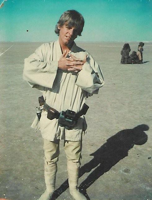 Luke Skywalker, toute premièrephoto