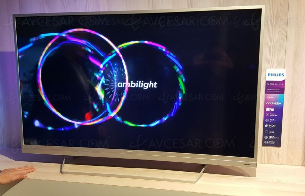 TV LED Ultra HD Philips PUS6482 : 49'', 55'' et 65