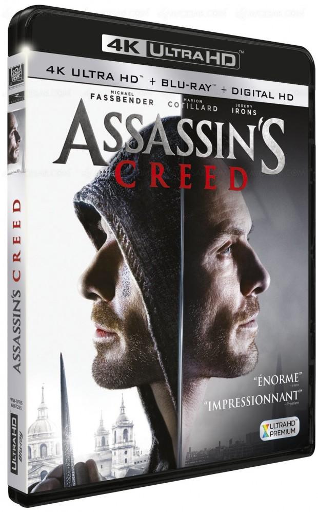 Assassin's Creed, la 4K Ultra HD ringardise leDVD