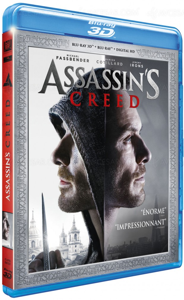 Assassin's Creed, la 4K Ultra HD ringardise le DVD