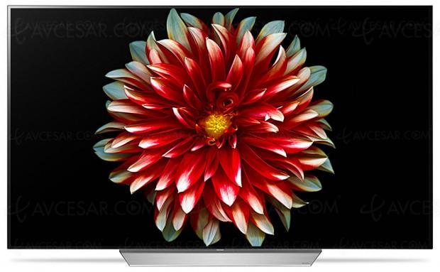 TV Oled LG C7V Ultra HD Premium, 55''/65'' au menu