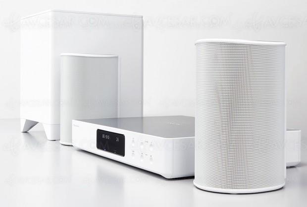 Pioneer FS-W50 (PioneerFayola), système audio‑vidéo2.1 multiroom, sans‑fil etévolutif