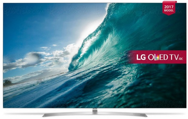 TV Oled LG B7V Ultra HD Premium, 55''/65'' enapproche