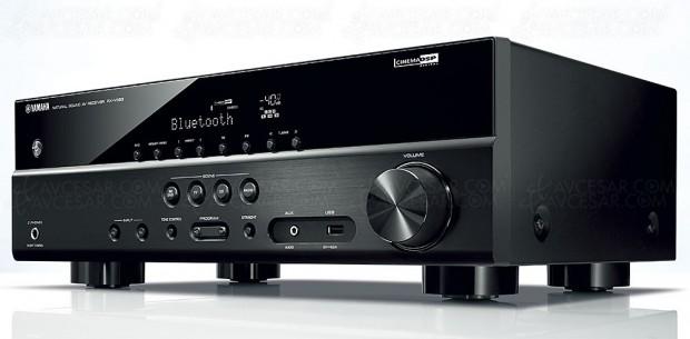 Yamaha RX-V383, ampli 5.1 Bluetooth, HDMI2.0a, Upscaling UltraHD,HDCP2.2…