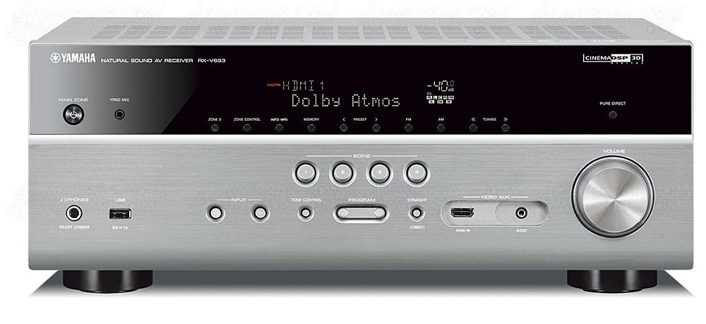yamaha rx v683 ampli 7 2 bluetooth airplay musiccast. Black Bedroom Furniture Sets. Home Design Ideas