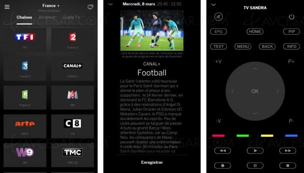 Tablette ou smartphone pour contrôler votre TVLoewe