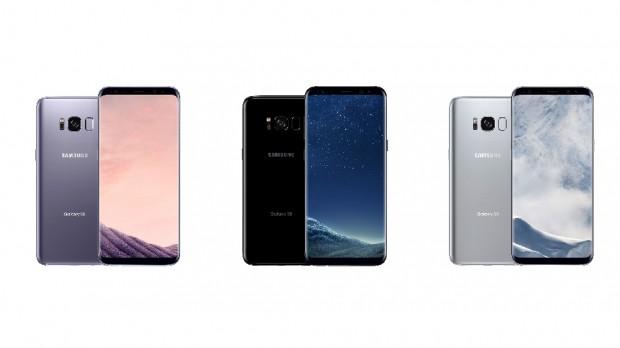 Samsung Galaxy S8 et S8 Plus, écrantotal
