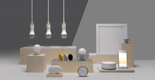 Ikea se met au luminaireconnecté
