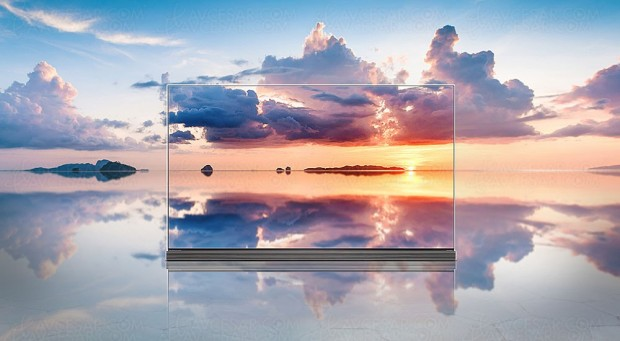 TV Oled LG G7V Signature Ultra HD Premium, 65''/77'' enapproche