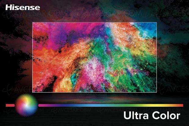 TV Uled Hisense N6800, mise à jour spécifications et prix indicatifs