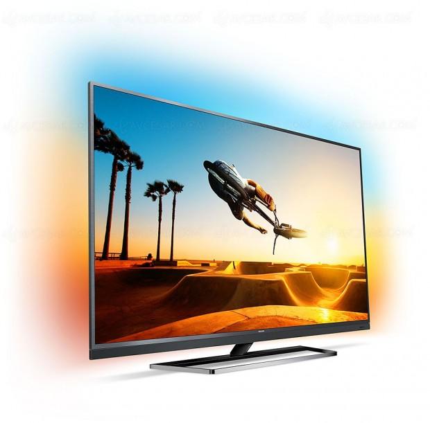 TV LED Ultra HD Philips PUS7502: 49'', 55'' et65