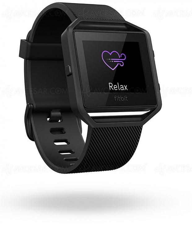 Nouvelles fonctionnalités cardio et sommeil pour FitbitBlaze