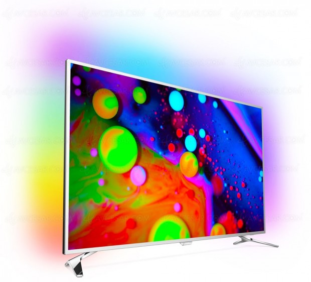 TV LED Ultra HD Philips PUS7202 : unique 43