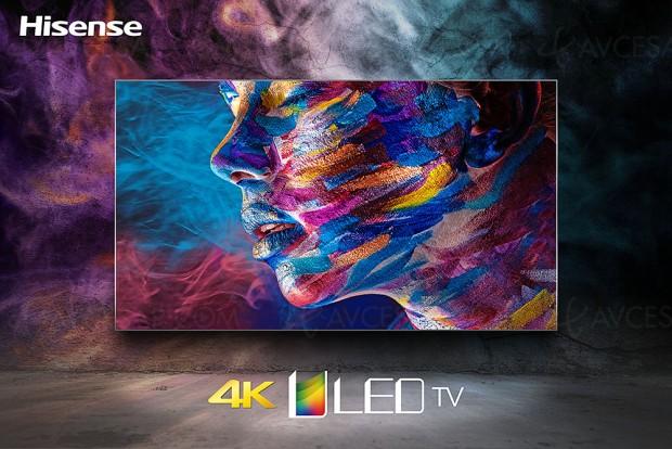 TV Uled Hisense NU8700, mise à jour spécifications et prixindicatifs