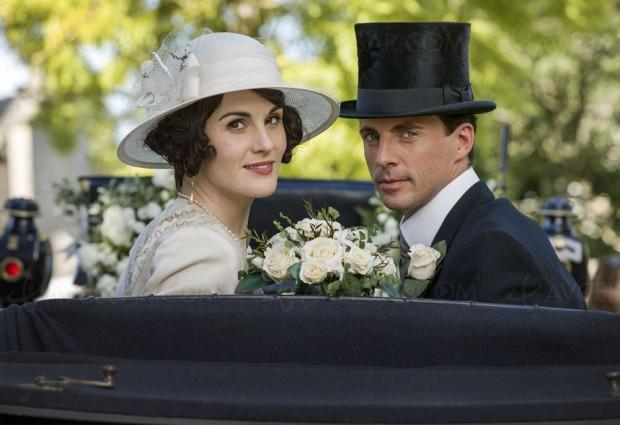 Downton Abbey, sept mariages et pas d'enterrement(coffret)