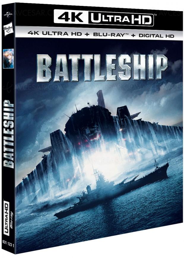 Battleship le 6 juin en 4K Ultra HD?Touché!