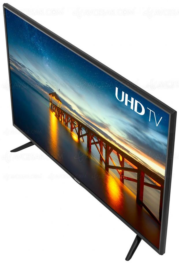 TV Hisense N5300, quatre modèles pour la find'année