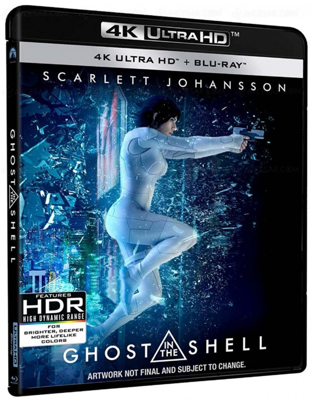 Ghost in the Shell voit triple et en 4K le 31 juillet