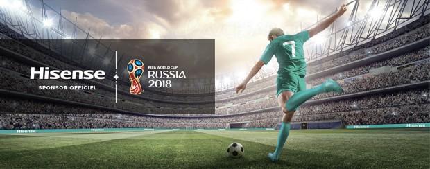 Hisense sponsor officiel de la Coupe du Monde Fifa2018